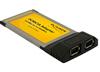 Adaptador PCMCIA 2x FireWire