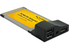 Adaptador PCMCIA 3x USB 2.0