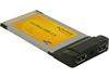 Adaptador PCMCIA 2x USB 2.0