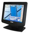 "Monitor TFT 12"" 1200TS  VGA Touchscreen"