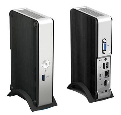 Barebone Intel NUC DE3815TYKHE (Intel Atom E3815 1.46 GHz)