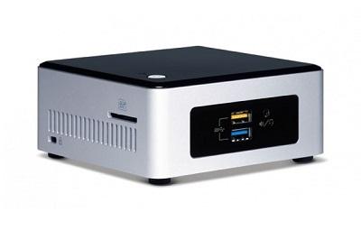 "Barebone Intel NUC5PPYH (Intel Pentium N3700 Quad-Core 1.60 GHz, 1x HDMI, WiFi, 2.5"" HDD/SSD)"